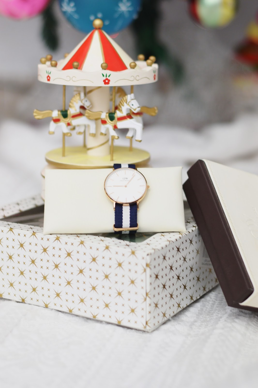 christmas daniel wellington watch