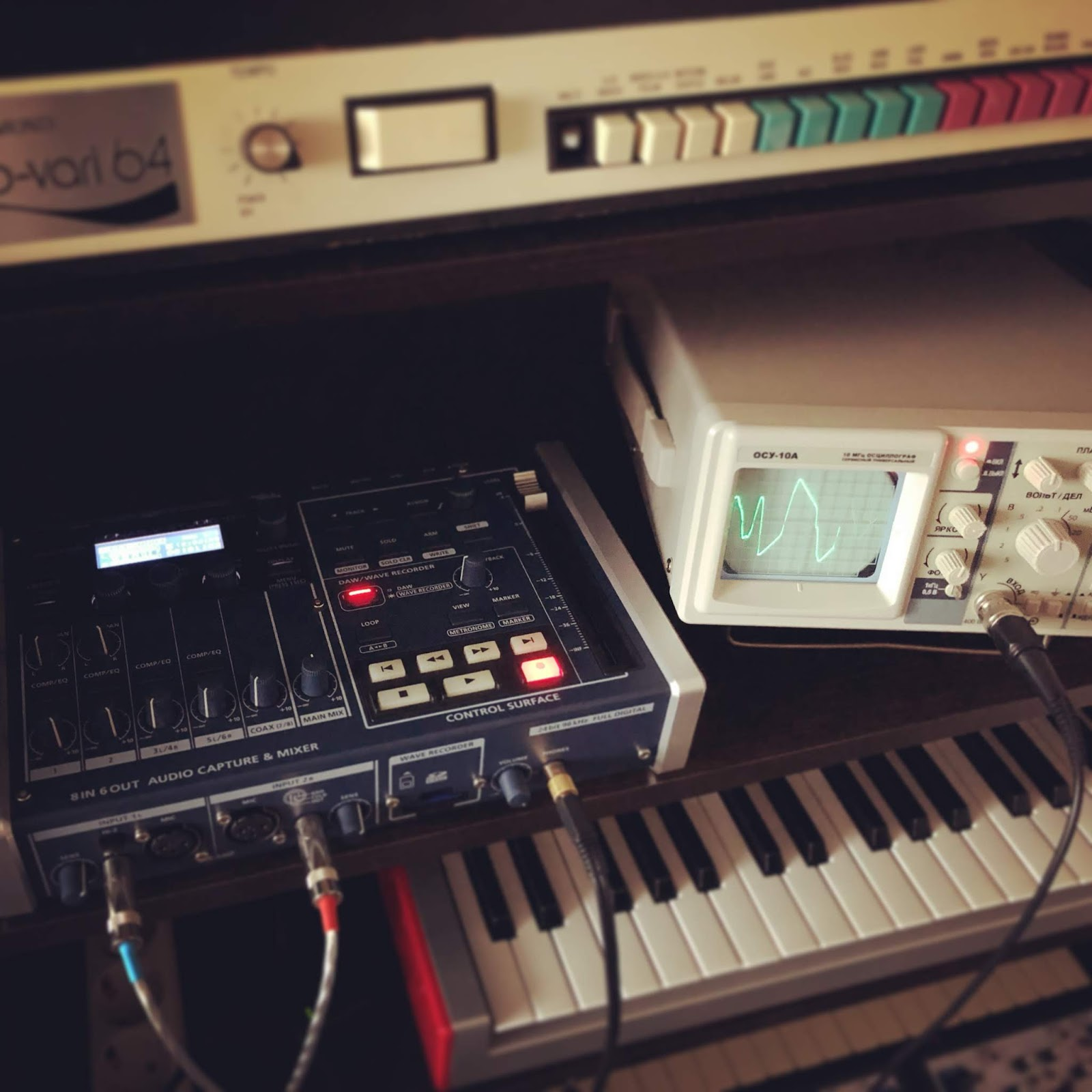 Motion Soundscape: Recording samples for SynthScaper app