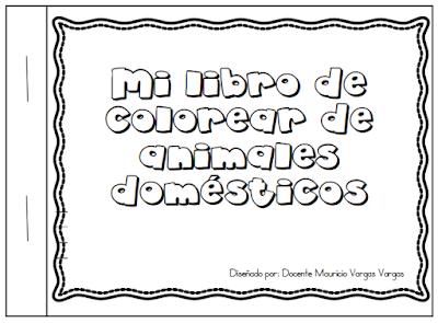Mi Libro De Colorear Animales Domésticos