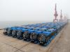 Yutong comenzó el envío de 130 trolebuses a México