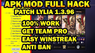 Download Mobile Legend v1 Apk Mod Patch Lylia