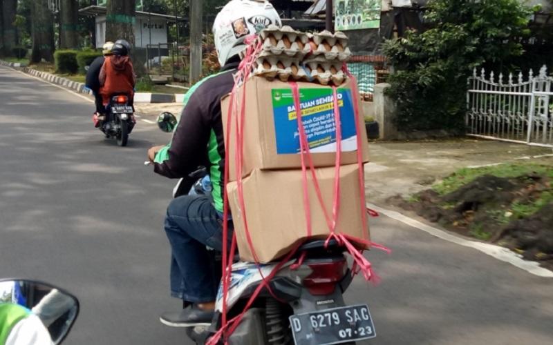 Stok Telur Bansos Jabar di Kabupaten Garut Didistribusikan ke Daerah Lain