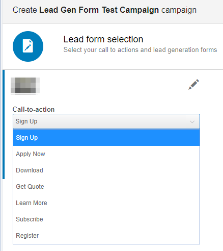 Linkedin Lead gen form creation