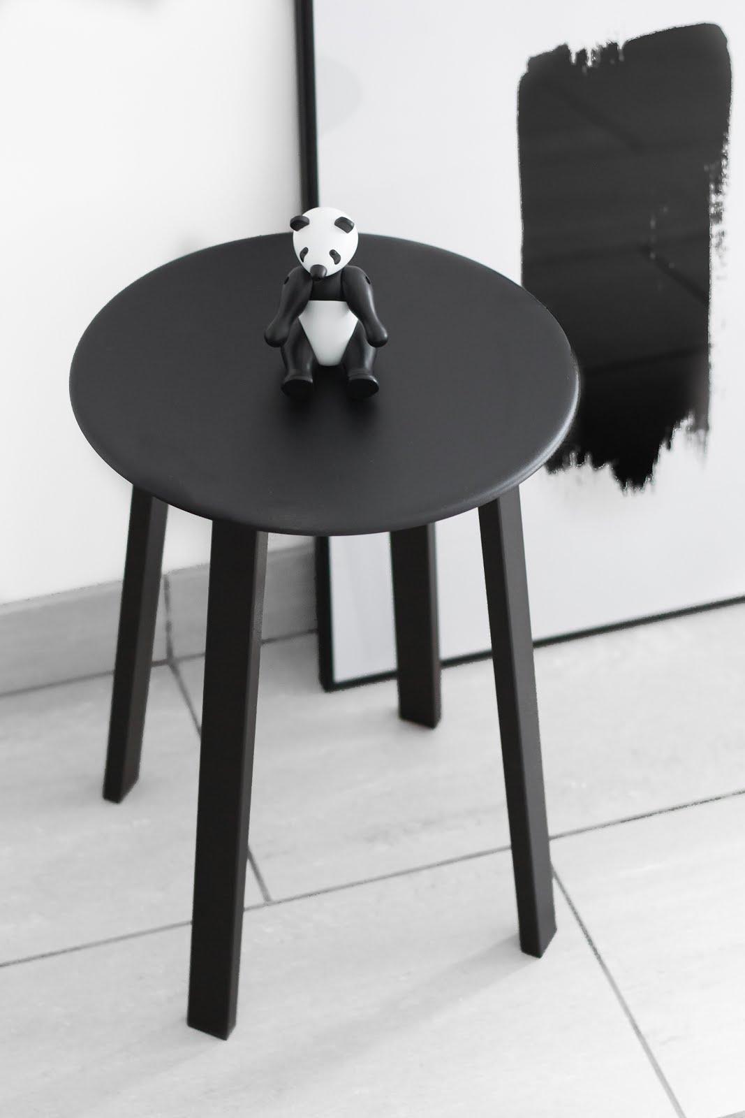 Hay, revolver, stool, black, minimal, designer, belgium, interieur, interior design, kay bojesen panda
