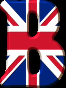 Alfabeto De La Bandera De Inglaterra Oh My Alfabetos