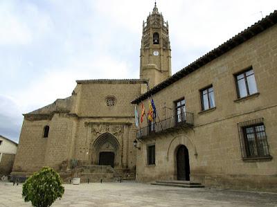 Iglesia de santa María; Sábada; Cinco Villas; Aragón