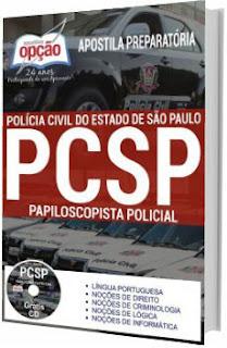 Apostila PC-SP 2018 Papiloscopista Policial