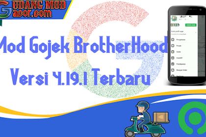 Mod Gojek Terbaru Gratis Brotherhood V2 Versi 4.19.1 Terbaru No Root Root