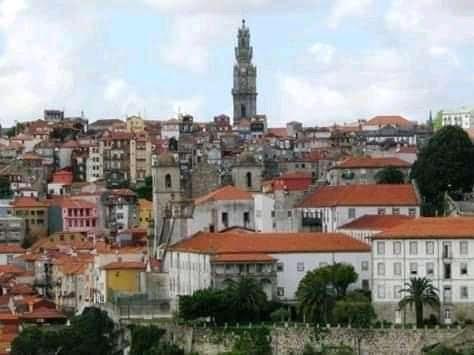 Porto-vista panorâmica - ao fundo a Torre dos Clérigos
