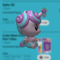 My Little Pony Baby Flurry Heart Cutie Mark Crew Render from Quidd