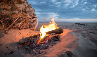 كيف كان القدماء يشعلون النار