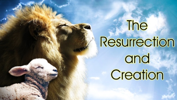 The significance of Easter is important to many Christian doctrines, obviously, and there is a connection to creation.