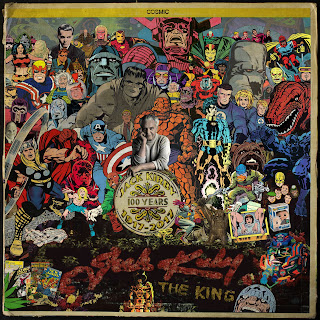 Jack Kirby 100 collage sgt pepper