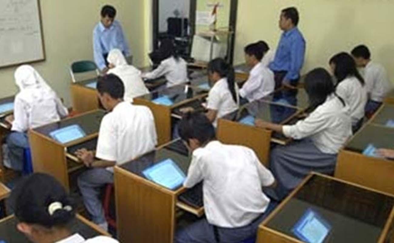 Download Contoh Format Rekapitulasi Daftar Nilai Ujian Semester