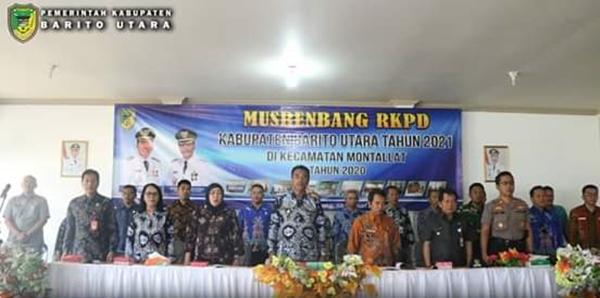 Pemerataan Pembangunan Disemua Sektor Menjadi Prioritas Dalam Musrenbang Kecamatan