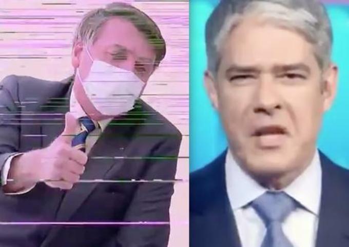 Jornal Nacional tem problema técnico em chamada de Bolsonaro