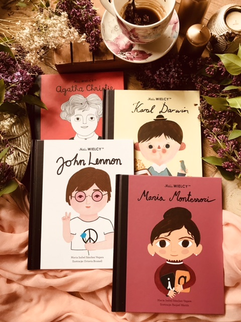 Mali Wielcy - Agatha Christie // Karol Darwin // Mania Montessori // John Lennon