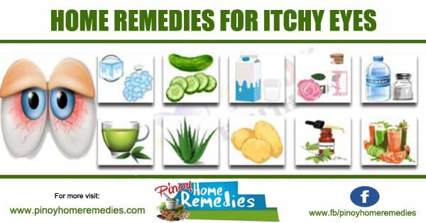 Natural Remedies for Itchy Eyes