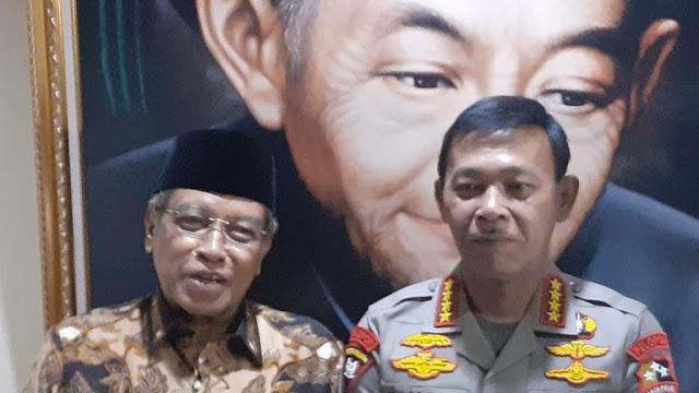 Kapolri Idham Azis Anggap PBNU sebagai Orang Tuanya