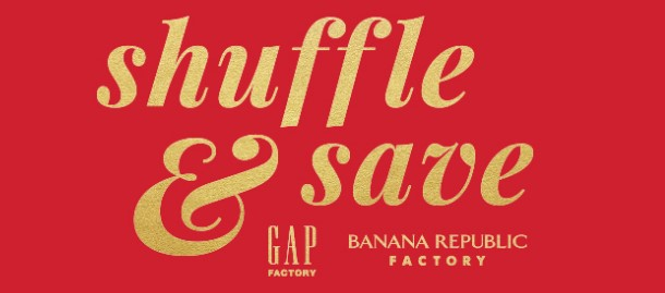 Banana Republic & Gap Shuffle Instant Win Game