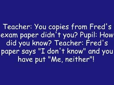 Funny Jokes To Tell At School