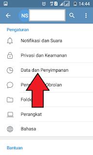 Data Penyimpanan Telegram