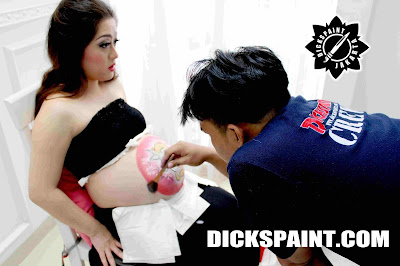 body painting belly paiting jakarta