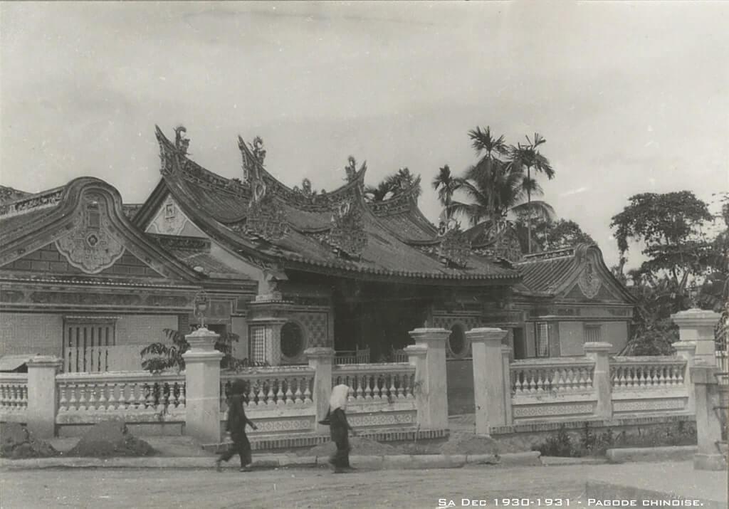 Hình ảnh Chùa Kiến An Cung lúc xưa