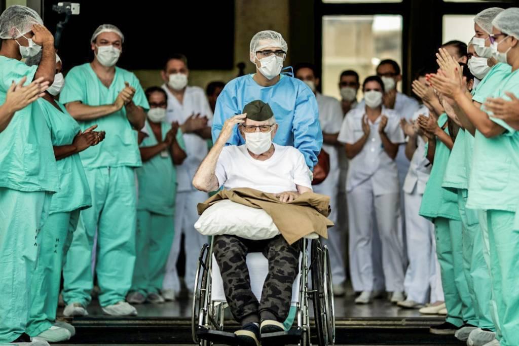Brasil ultrapassa os 100 mil recuperados de Covid-19