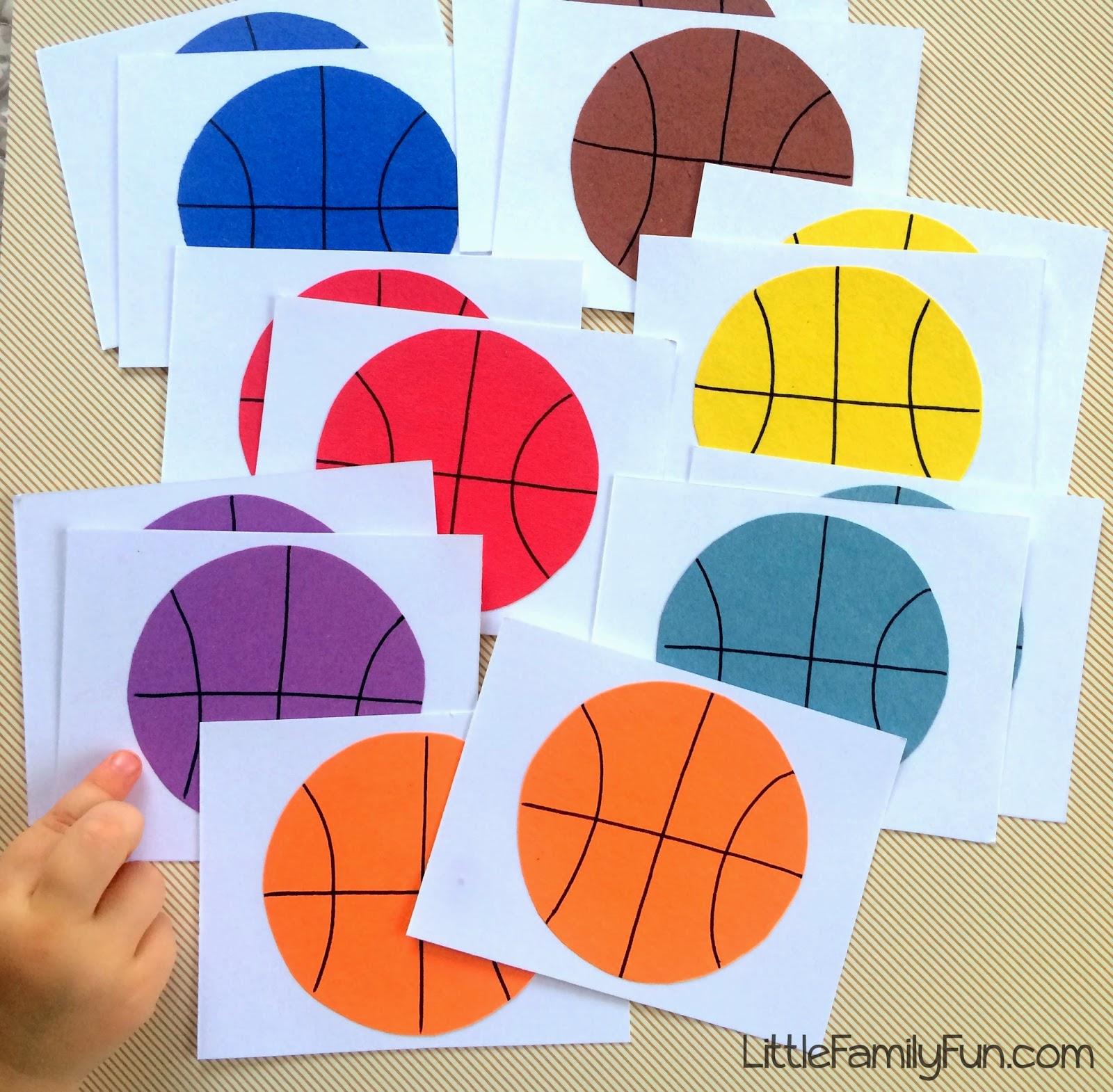 Little Family Fun Basketball Memory