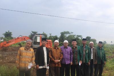 Kakankemenag Tanjungbalai Tinjau Lokasi Tanah Hibah Untuk Pembangunan Madrasah