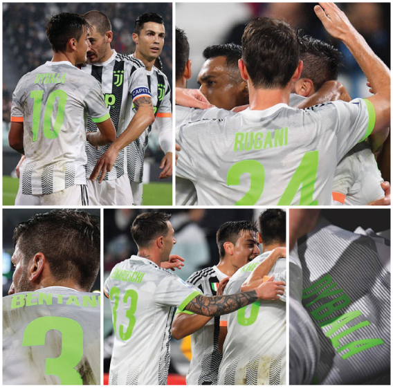 Football Teams Shirt And Kits Fan Juventus Adidas X Palace 2019 20 Font