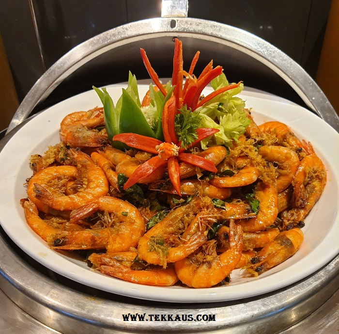 Seafood Ramadan buffet dinner Holiday Inn Melaka