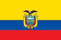Logo Gambar Bendera Negara Ekuador PNG JPG ukuran 200 px