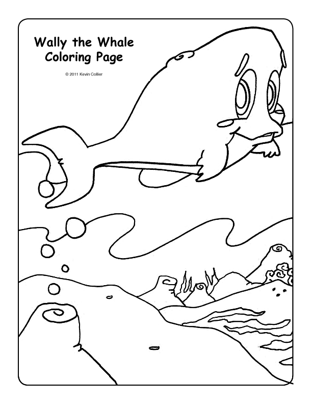 wally the green monster coloring pages-#18