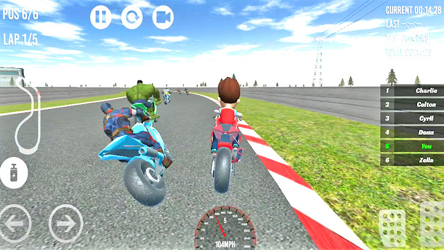 PAW Ryder Patrol Moto Racing 3D Game - apk download | Games to Play