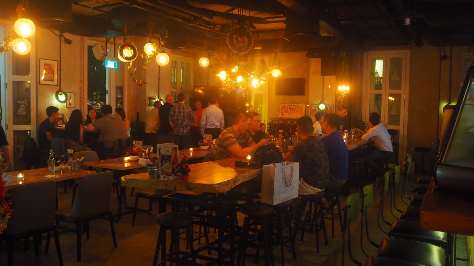 Armoury Craft Beer Bar Menu