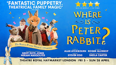 Where is Peter Rabbit show advert