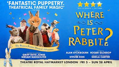 Where is Peter Rabbit show advert