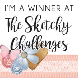 Winner at The Sketcy Challenge