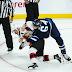 Video: Jets Stanley and Senators Watson Drop the Gloves