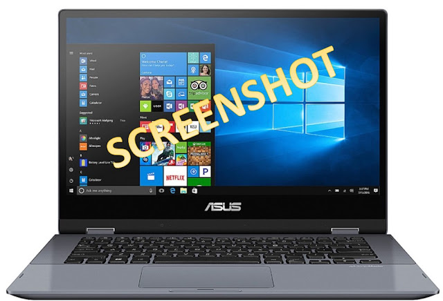 cara screenshot di laptop asus