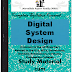 Digital System Design Using VHDL PDF Study Materials cum Notes, E-Books Download