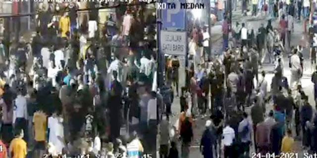 Buntut Kerumunan Di Kesawan City Walk, GMKI Medan Minta Kapolri Panggil Bobby Nasution