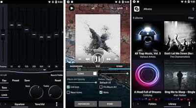 تطبيق Poweramp Music Player