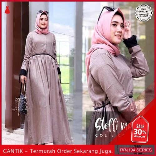Jual RRJ194D203 Dress Steffi Maxy Wanita Wd Terbaru Trendy BMGShop