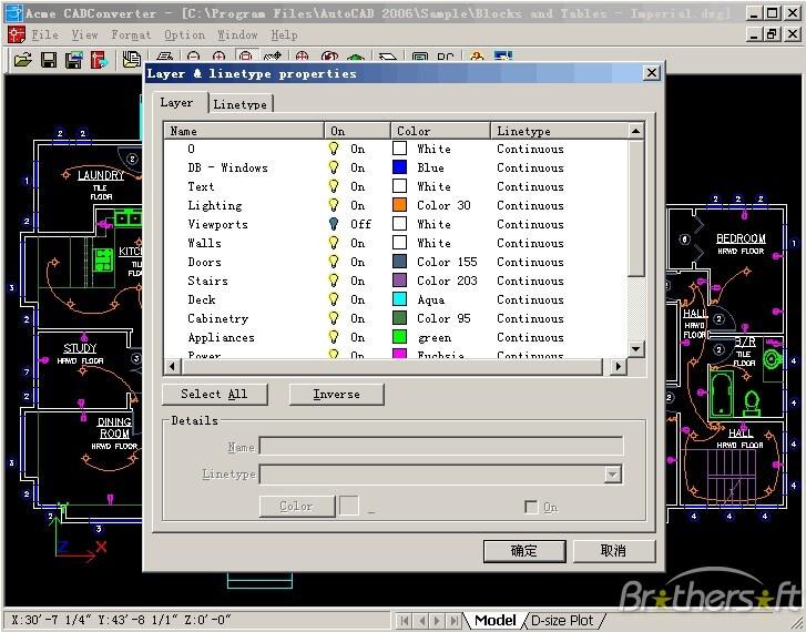برنامج Acme CAD Converter 2019 لفتح و تحويل ملفات الاتوكاد dwg