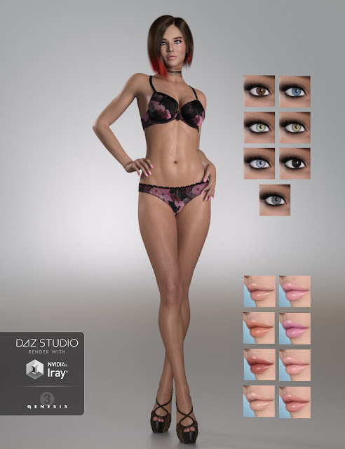 DT- Cindy for Genesis 3 Female