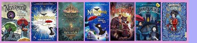 portadas del libro Nevermoor Las pruebas de Morrigan Crow