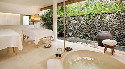 Arquitectura y diseño hermoso  en este Resort de lujo en Bali Indonesia.